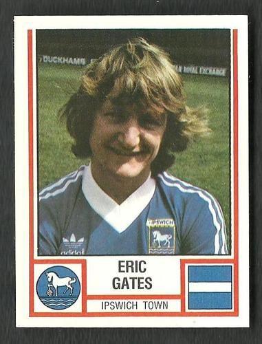 Ipswich Town - ERIC GATES - # 127 - Panini Football 81