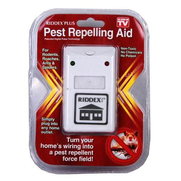 Riddex Plus Pest Controller As Seen On TV : Alat Pengusir Tikus, Kecoa, dan Nyamuk Tanpa Racun