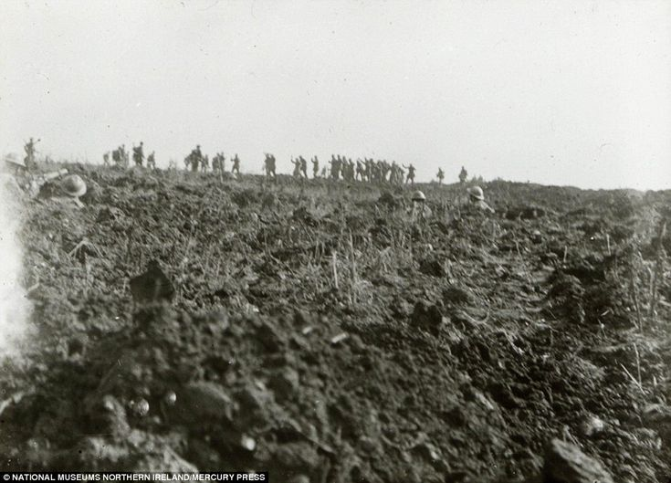 Lance Corporal George Hackney captured the moment the 36th (Ulster) Division forced German soldiers to surrender in July 1916. The amateur photographer used a folding camera slightly bigger than a phone to capture the battle, which saw more than a million men killed