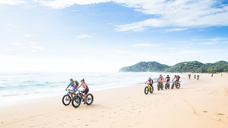 Pedalling through the coastal paradise of Mozambique