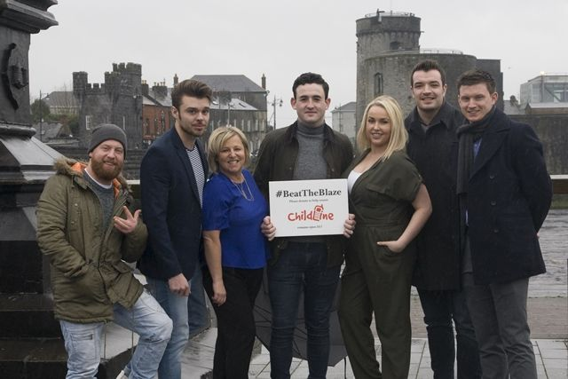 The #BeatTheBlaze challenge for Childline is set to take place in King Johns Castle on Saturday March 12. BeatTheBlaze will see 5 representatives from 10 companies take part in a 'Walk on Fire' challenge to raise much needed funds to help keep Childline open 24/7 #lovelimerick