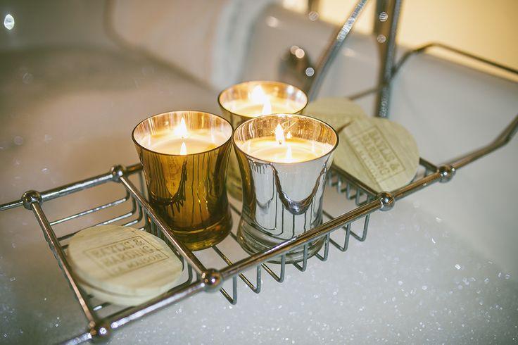La Maison Crème Brûlée & Cocoa Candles. Exclusive to Tesco.