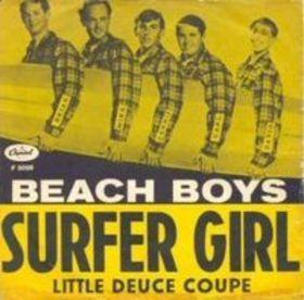 """The Beach Boys """" Surfer Girl"""""""