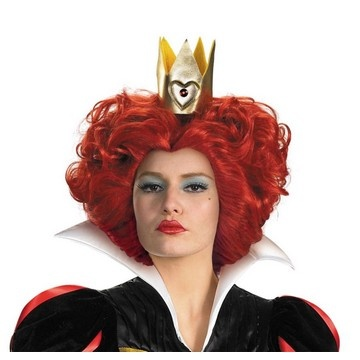 red queen wig alice in wonderland - Red Wigs For Halloween