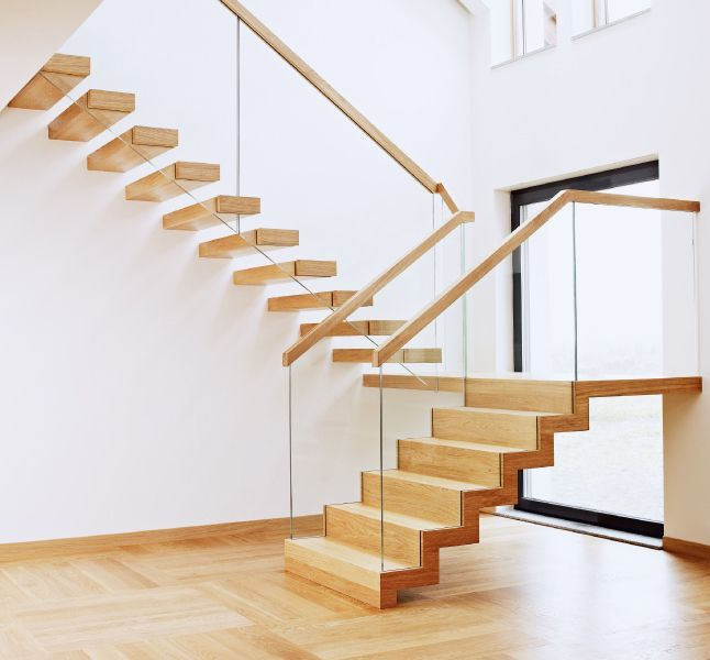 White Stairs Design Another Picture And Gallery About Interior House  Painting Ideas Photos : Southwestern Home Decorating Ideas Grand Staircase  Design By H