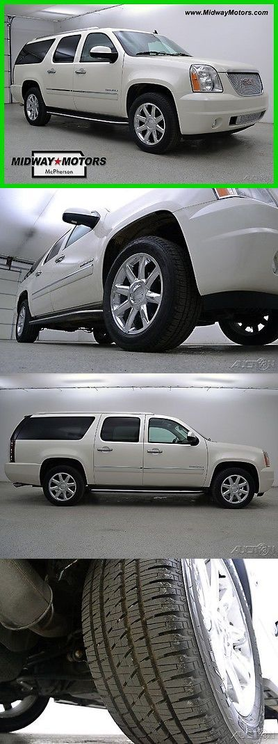 SUVs: 2013 Gmc Yukon Denali 2013 Denali Used 6.2L V8 16V Automatic Awd Suv Bose Onstar BUY IT NOW ONLY: $39402.0