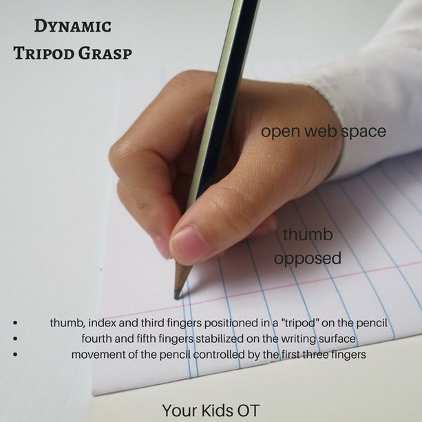 Dynamic Tripod Grasp! Why do we teach this to our kids?   Your Kids OT
