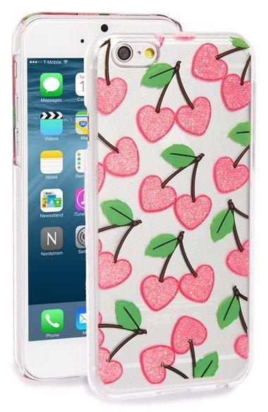 Skinnydip 'Cherry Heart' iPhone 6 & 6s Case