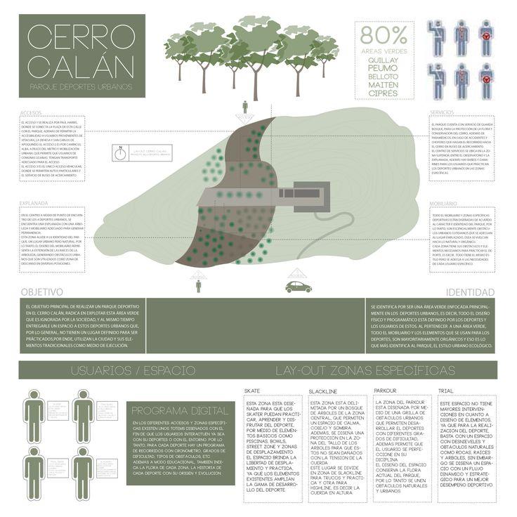 Diseño Proyecto Cerro Calán, Santiago
