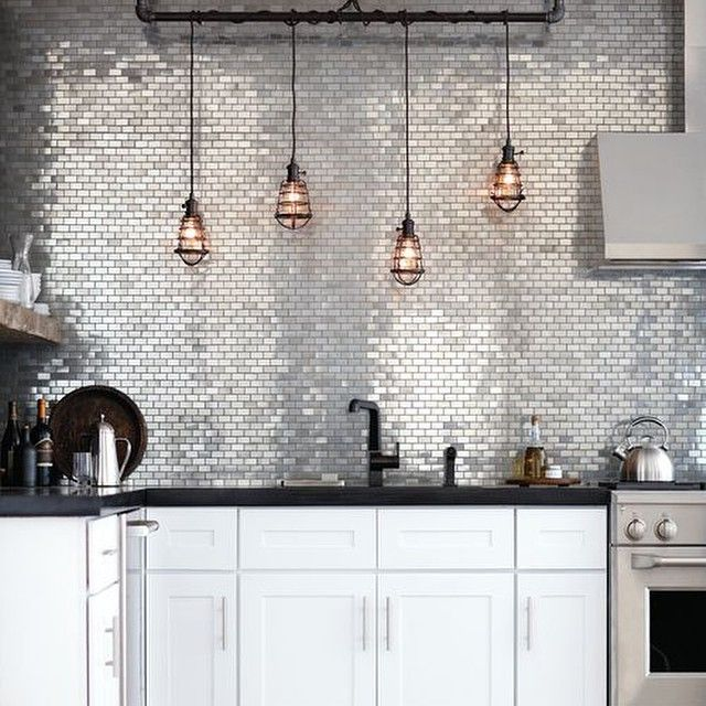 Stunning lighting (paired with some stunning tiling)