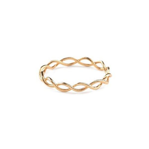 Pernille Corydon Entangled ring - gp