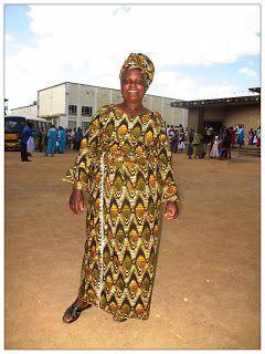 Una Twiga in Tanzania: I tessuti africani..