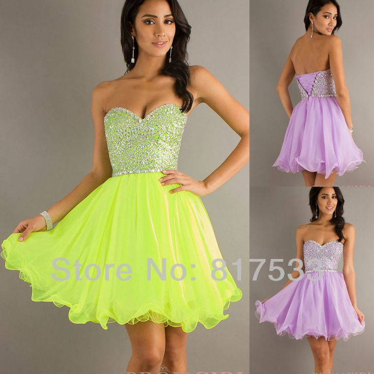 vestidos de graduacion de primaria color lila corto de graduación vestidos de neón de color lila cal una línea de gasa