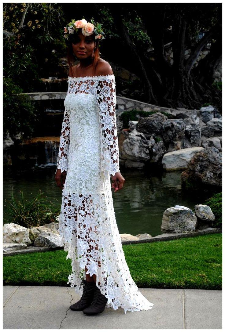 Vestidos de novia de ganchillo: 10 se ve impresionante (crédito ...
