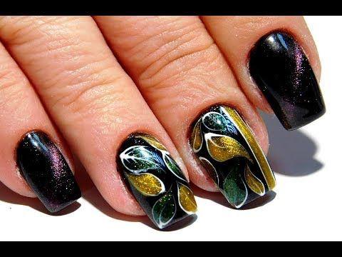 Top Beautiful nail design. Cat's Eye 2017 jewels from the nail art master nail 2017 - YouTube