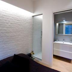 Loft CF_Manuela Tognoli Interiors: Camera da letto in stile in stile Industriale di Manuela Tognoli * Label201