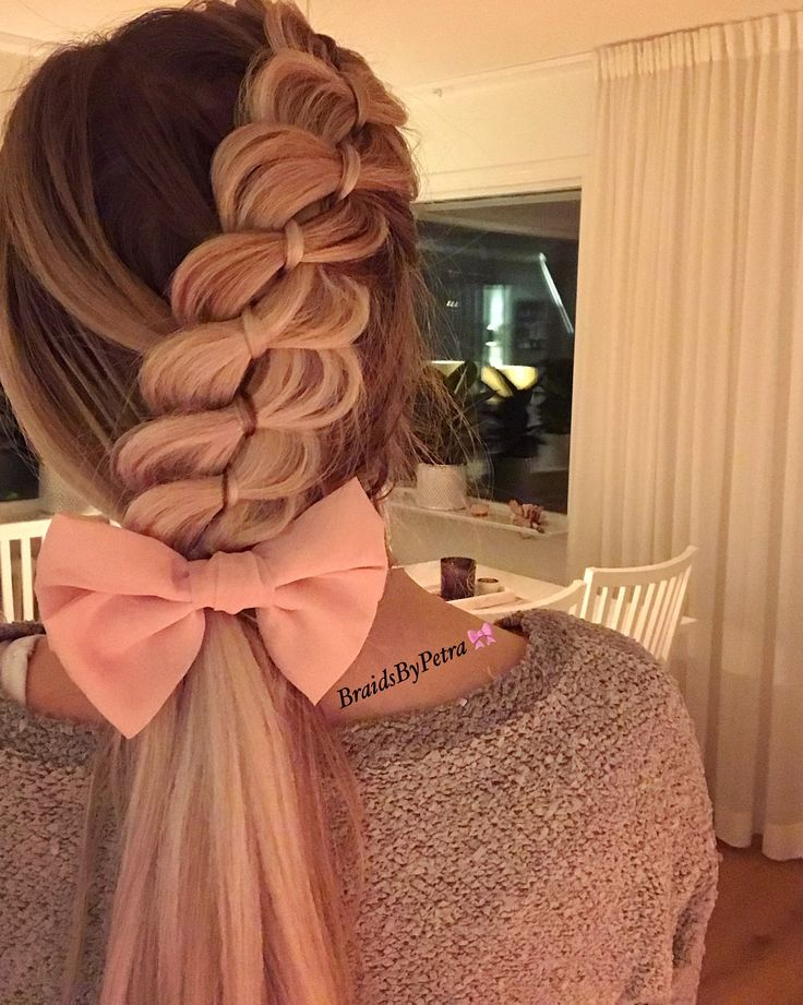 #romantic #pretty #braids #hairstyle