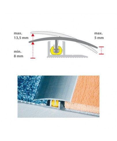 Moderne Übergänge von #Laminat bzw. #Parkett zu Teppich oder Fliesen? Hier edles #Übergangsprofil für schon 14,99€