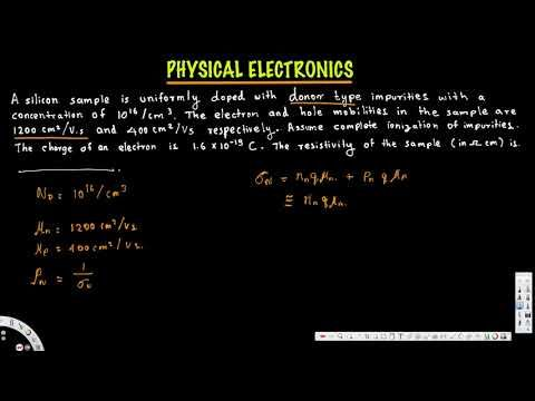 Resistivity of N Type semiconductor - Physical Electronics