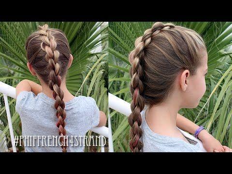 How To: French Four (4) Strand 3D / Round Braid | Pretty Hair is Fun - YouTubeBraid Hairstyles, Braids, braids tutorial, braids for short hair, braids for short hair tutorial, braids for long hair, braids for long hair tutorials... Check more at http://app.cerkos.com/pin/how-to-french-four-4-strand-3d-round-braid-pretty-hair-is-fun-youtube/