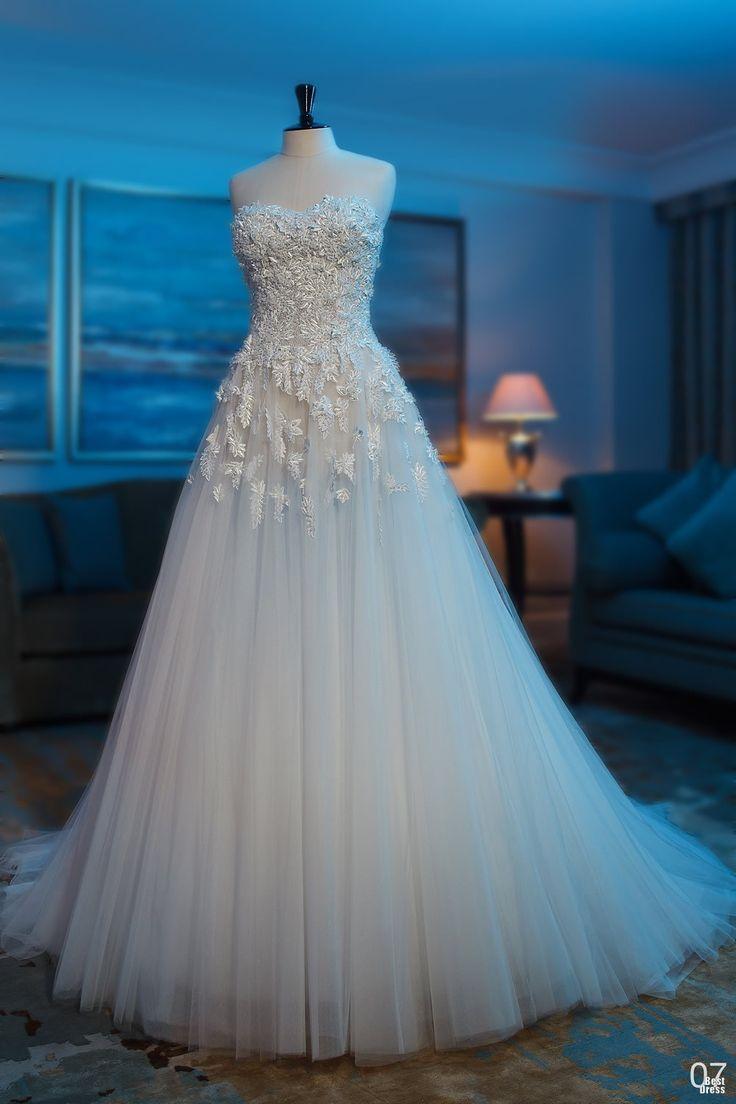 Female network girl talk civil wedding dresses