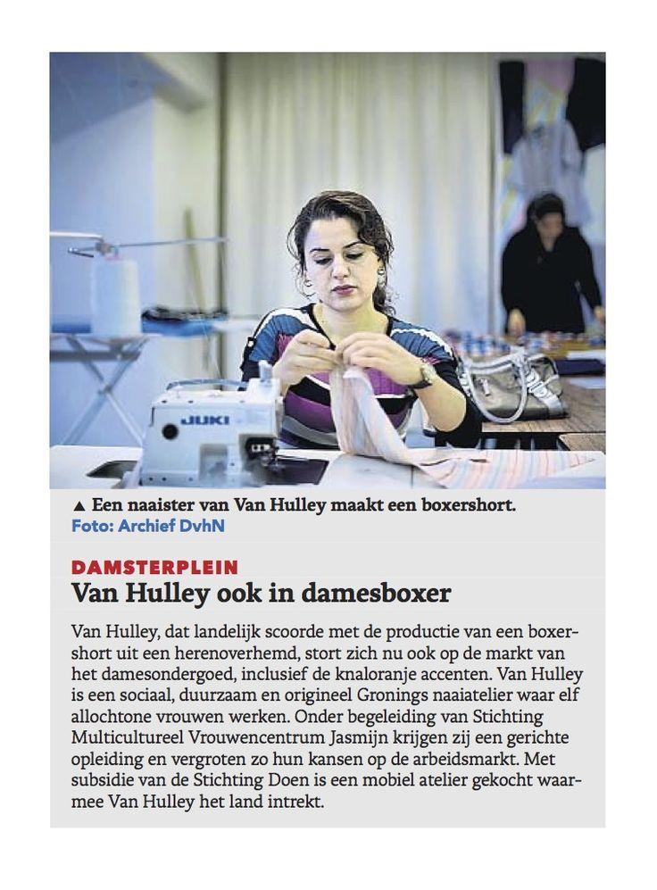 #vanhulley #dagblad van het noorden