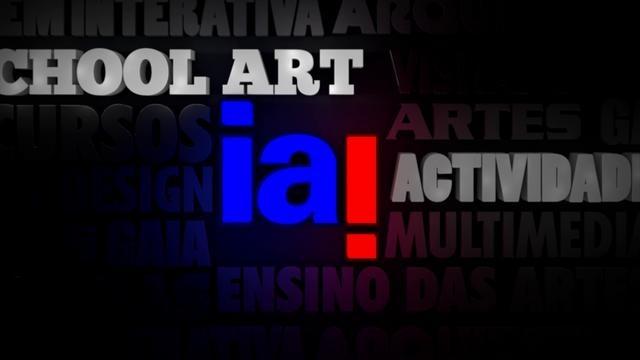 IAI School Art by Claudio Coutinho. Produção de separadores temáticos para o IAI (Instituto das Artes e da Imagem)