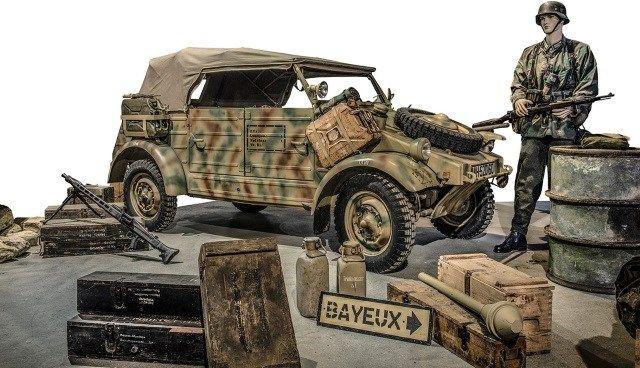 Monte o seu exército: veículos da Segunda Guerra Mundial estão à venda