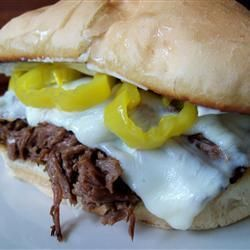 Slow Cooker Italian Beef for Sandwiches Recipe - Allrecipes.com