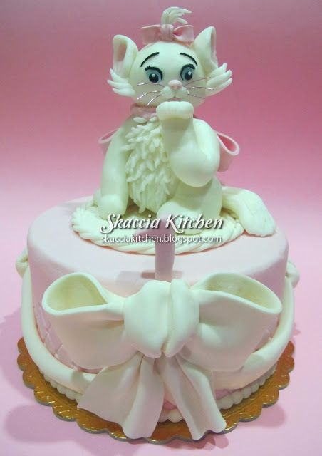 Bagpuss Cake Decoration