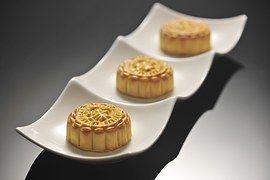 Mooncake, Mediados Otoño, Sweet, Pastel
