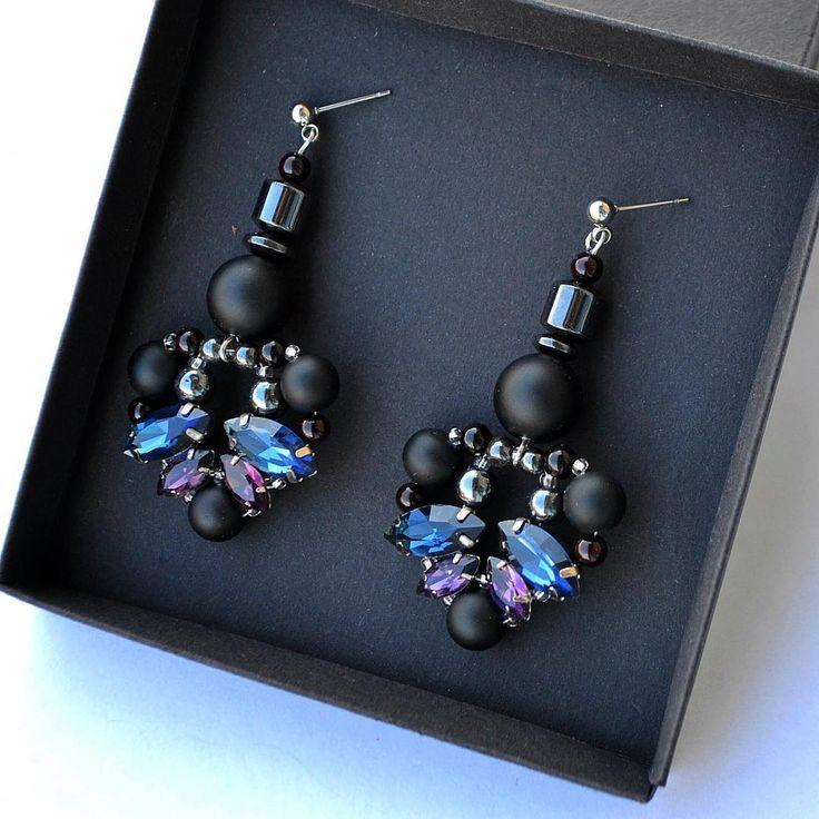 💫В наличии ✔️#серьгиручнойработы #МаринаНикитина #серьгилюкс #jewelrydesigner #earrings #jewelrylover #дизайнерукрашений #lookbook #fashionjewelry #jewelrygram #bloggerstyle #womenstyle #jewelleryblogger #autumnlook #earringfashion
