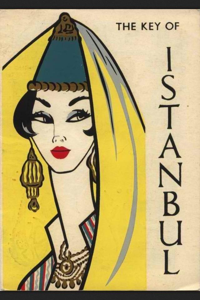 Vintage travel istanbul