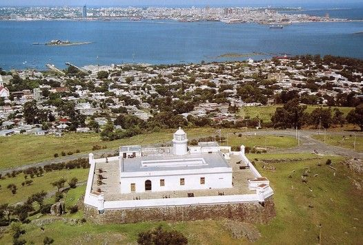 Fortaleza del Cerro, Montevideo - now a Museum. Here is where Montevideo started.