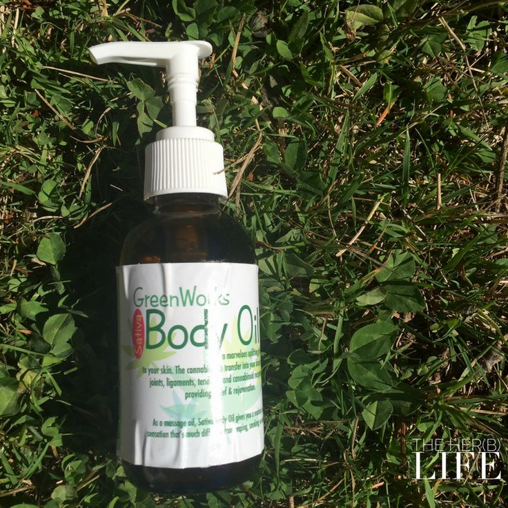 Her(B) Life Review; GreenWorks Sativa Body Oil