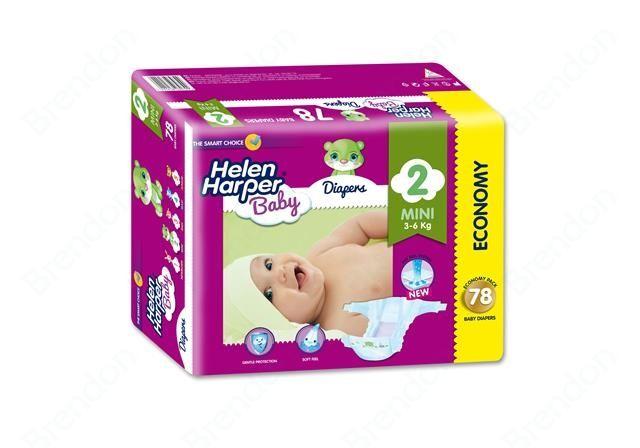 Helen Harper jednorázové plienky Baby Mini 78 pcs