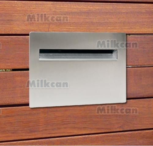 Milkan Palazzo Embedded Mailbox //.milkcan.com.au/ & 12 best Modern Embedded Mailboxes images on Pinterest | Mail boxes ...