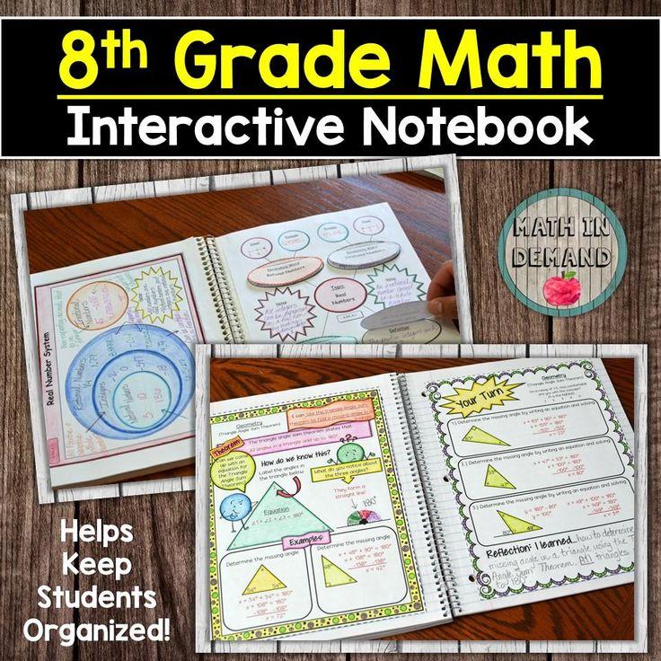 7th grade math interactive notebook di 2020