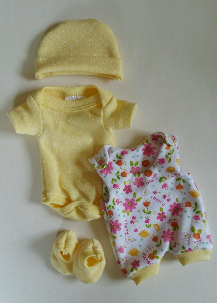10 Reborn Baby Doll Clothes OOAK