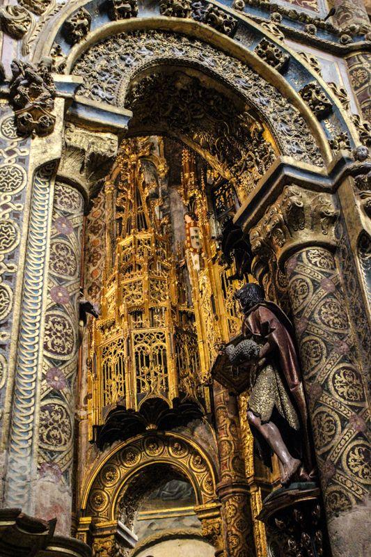 Convent of Christ, Tomar, the original round Templar Church