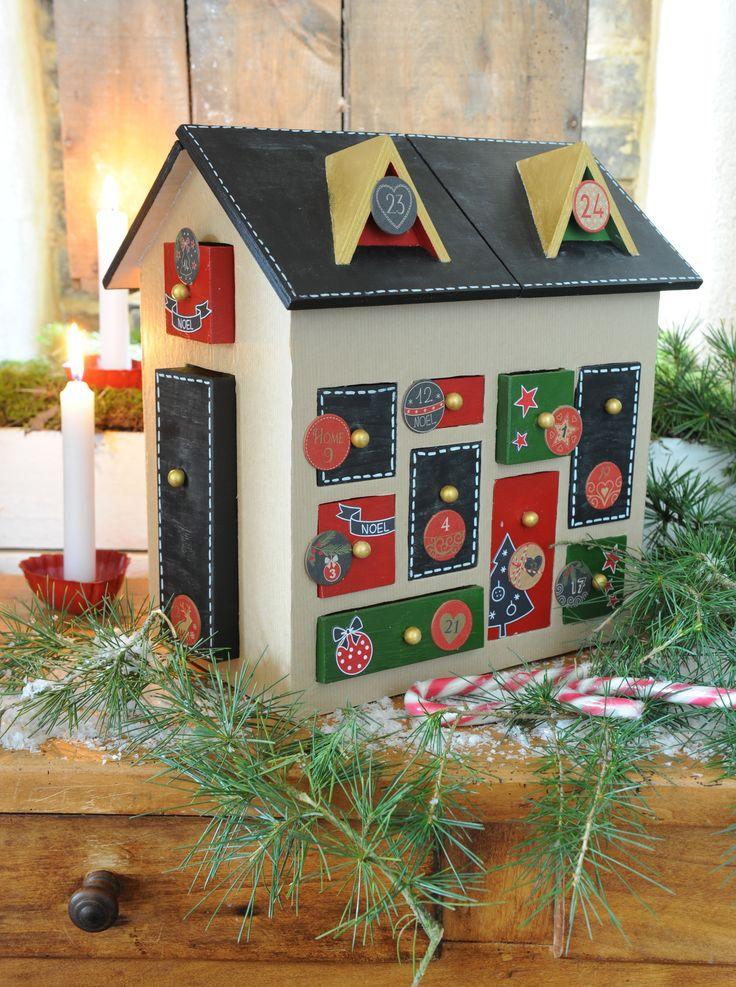 11 best calendrier de l 39 avent images on pinterest advent. Black Bedroom Furniture Sets. Home Design Ideas