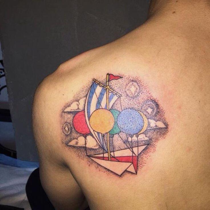 B.I's tattoo