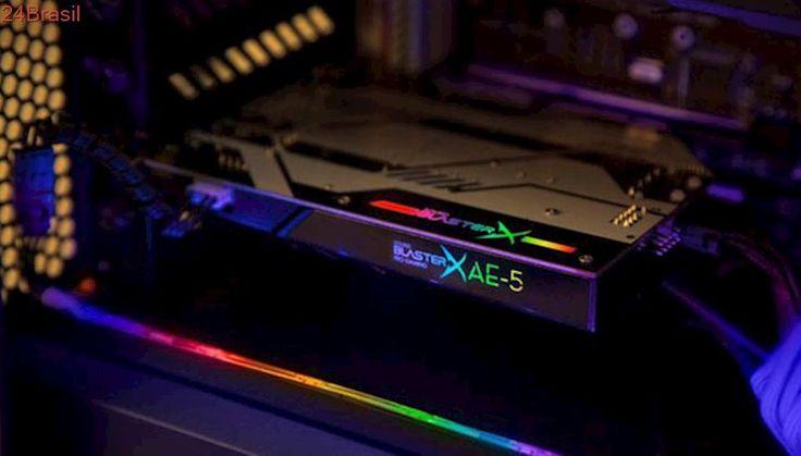 Creative vai exibir placa de som BlasterX AE-5 na Gamescom 2017
