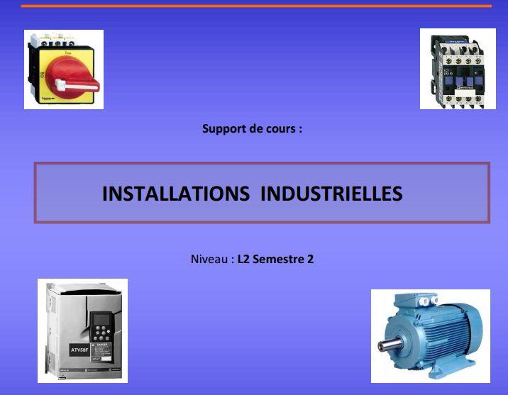 Installations Industrielles pdf ~ Cours D'Electromécanique
