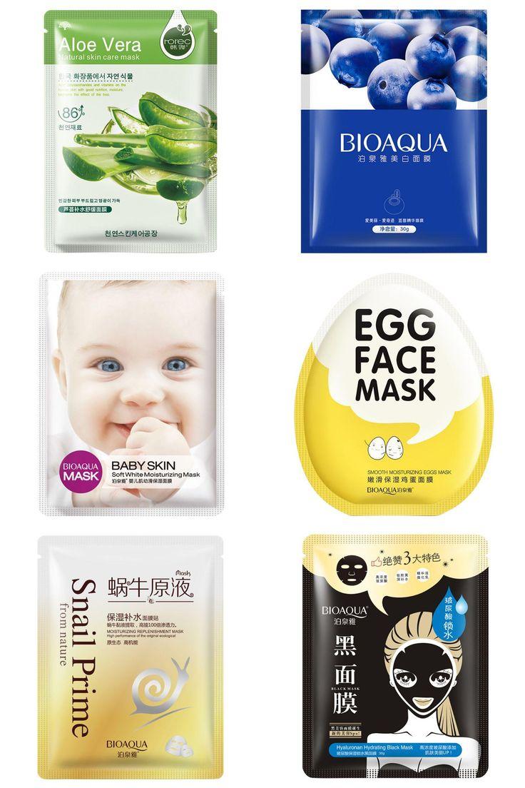 [Visit to Buy] Deep Moisturizing Face Mask Oil Control Skin Care Shrink Pores Facial Masks #Advertisement