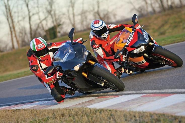 Ducati 1198 S vs Honda CBR1000RR Fireblade