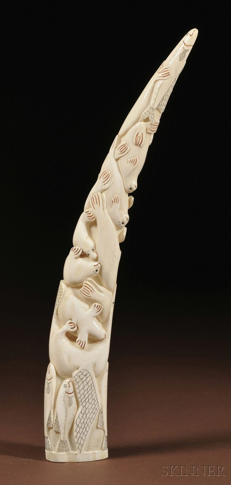 Best eskimo ivory carvings images on pinterest