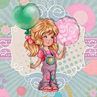 Fair Day - Digital Stamp - $3.00 : Digital stamp, scrapboking, crafts, doodles, cliparts & templates by The Paper Shelter