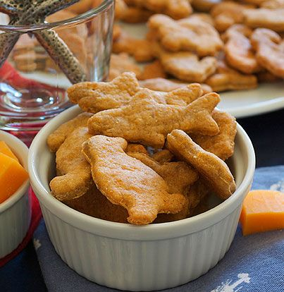 ... Goldfish, Cheddar Crackers, Homemade Goldfish, Better Recipe, Goldfish