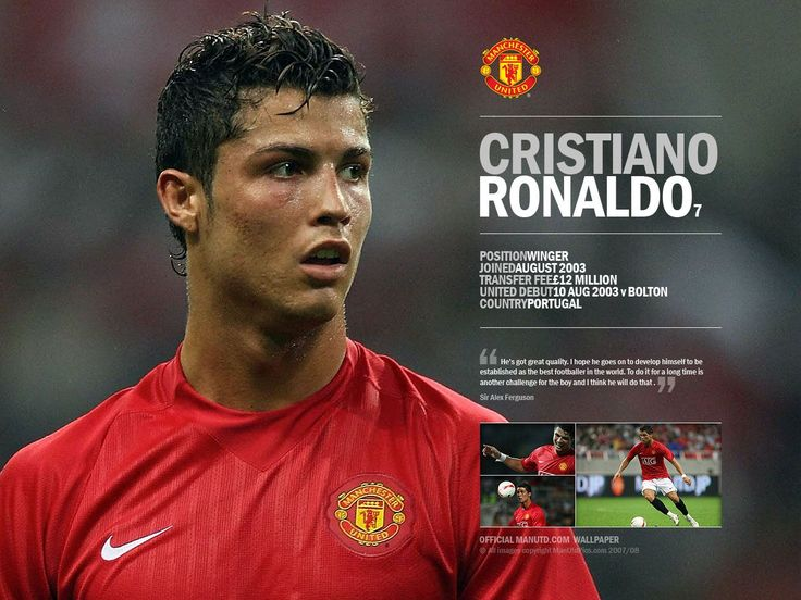 Cristiano Ronaldo, Manchester United, Portugal, Football (Soccer